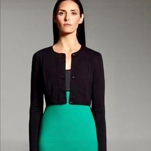 narciso rodriguez for design nation crop jacket XS